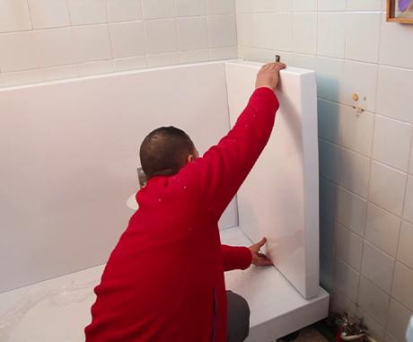 douche sécurisée 1 journée de travaux